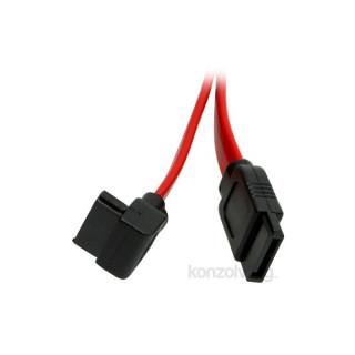 """PRC SATA 0,5m """"L"""" alakú kábel PC"""