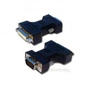 PRC DVI-I (Female) - D-Sub (VGA) (Male) átalakító PC