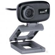 Genius FaceCam321 mikrofonos fekete webkamera PC