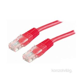 PRC UTP CAT5E 1m piros patch kábel PC