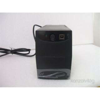 Centralion Aurora 650 DIN 360W fekete szünetmentes tápegység
