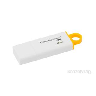 Kingston 8GB USB3.0 Sárga-Fehér (DTIG4/8GB) Flash Drive PC