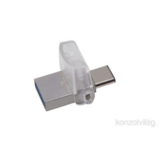 Kingston 64GB microUSB3.1 C/USB3.1 A Ezüst (DTDUO3C/64GB) Flash Drive PC