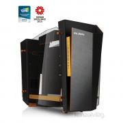 In Win S-Frame arany-fekete (Táp nélküli) ATX ház PC