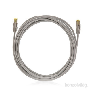 KE-Line Cat6A 10Gigabit STP Patch Kábel 3m PC