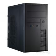 Chieftec XT-01B-OP Libra szériás táp nélküli fekete mATX ház PC