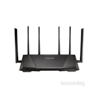 ASUS RT-AC3200 Vezeték nélküli 600Mbps+1300Mbps+1300Mbps Router PC