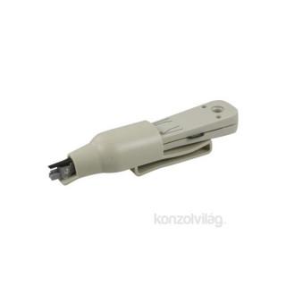 UTP betűző szerszám Krone-hoz, kábel vágóval PC