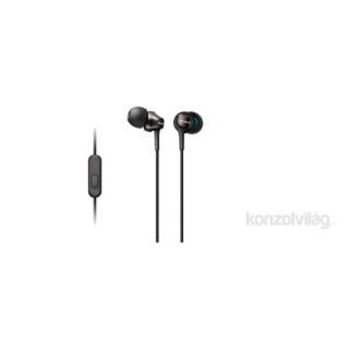 Sony MDREX110APB.CE7 fekete mikrofonos fülhallgató