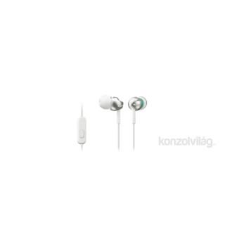 Sony MDREX110APW.CE7 fehér mikrofonos fülhallgató Mobil