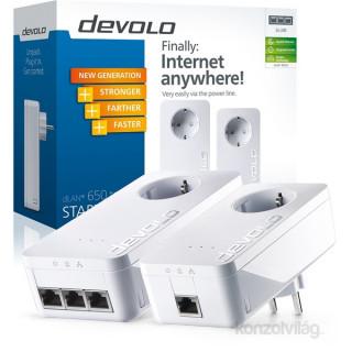devolo D 9242 dLAN 650 triple Powerline Starter Kit