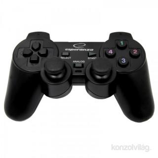 Esperanza EG106 PS2/PS3/PC vibrációs gamepad PC