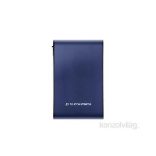 Silicon Power Armor A80 2TB USB3.0 kék ütésálló külső winchester