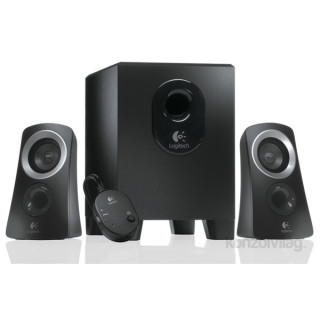 Logitech Z-313 jack 2.1 25W fekete hangszóró