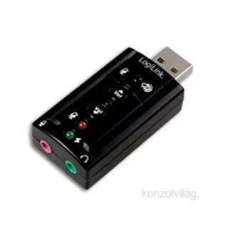 LogiLink UA0078 USB 2.0 külső hangkártya 7.1 csatornás PC