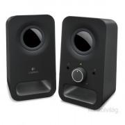 Logitech Z150 jack 2.0 6W fekete hangszóró PC