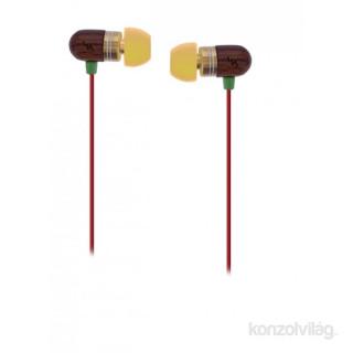TnB ESWOODRG Wood Jamaica mikrofonos-hangerőszabályzós fülhallgató