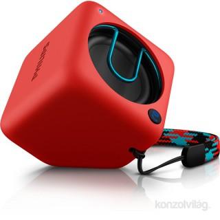Philips BT1300 piros hordozható Bluetooth hangszóró