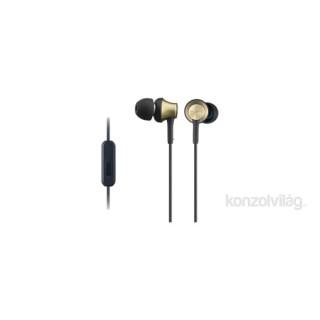 Sony MDREX650APT.CE7 arany mikrofonos fülhallgató