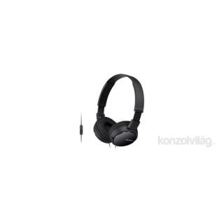 Sony MDRZX110APB.CE7 fekete mikrofonos fejhallgató