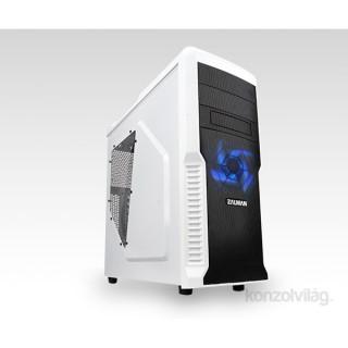 Zalman Z3 PLUS Fehér (Táp nélküli) ATX ház PC