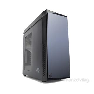 Zalman ZM-R1 Fekete (Táp nélküli) ATX ház PC
