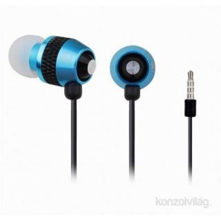 Gembird MHS-EP-002 jack fekete-kék mikrofonos fülhallgató PC