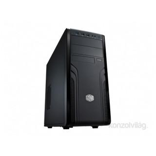Cooler Master Force 500 táp nélküli fekete ATX ház PC