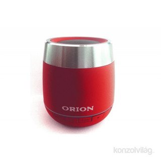 Orion OBLS-5381R piros Bluetooth Speaker rádióval Mobil