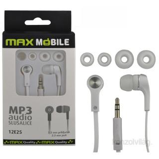 Max Mobile MP3 fehér fülhallgató PC