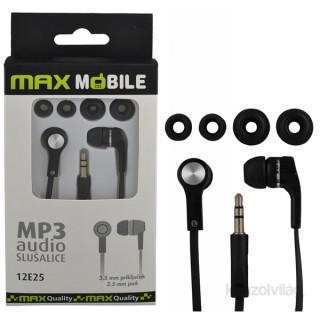 Max Mobile MP3 fekete fülhallgató PC