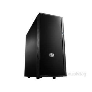 Cooler Master Silencio 452 táp nélküli fekete ATX ház PC