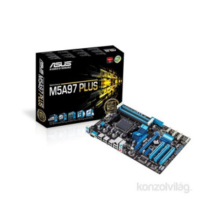 ASUS M5A97 PLUS AMD 970/SB950 SocketAM3+ ATX alaplap