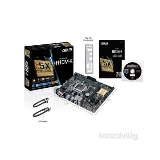 ASUS H110M-K Intel H110 LGA1151 mATX alaplap