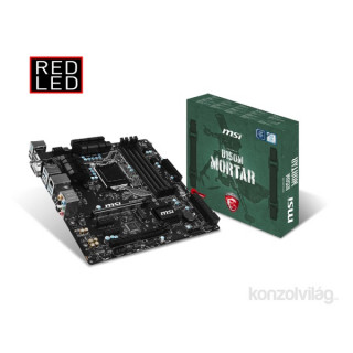 MSI B150M MORTAR Intel B150 LGA1151 mATX alaplap PC