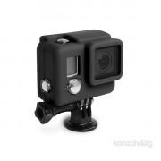 XSories Lite fekete gumírozott szilikon védőtok GoPro Hero3/3+/4-es kamerához PC