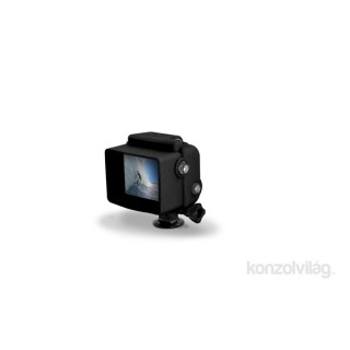 XSories HD4 Standard fekete gumírozott szilikon védőtok Hero4 kamerához PC