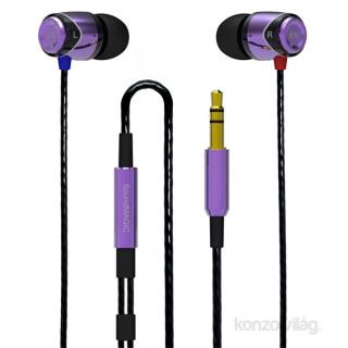 SoundMAGIC SM-E10-04 E10 lila-fekete fülhallgató PC