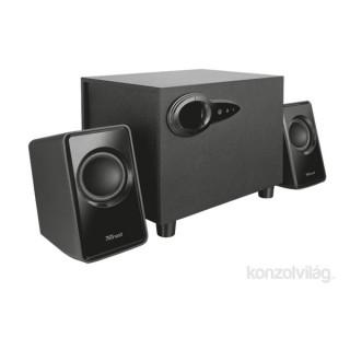 Trust Avora 2.1 Subwoofer Speaker Set jack 18W fekete hangszóró PC