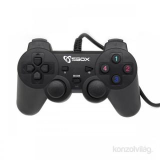 Sbox GP-2009 PS2,PS3,PC digitális USB gamepad PC