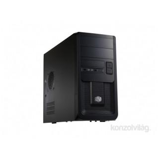 Cooler Master Elite 343 táp nélküli fekete microATX ház