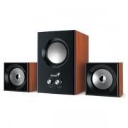 Genius SW-2.1 370 80W fa mintázatú hangszóró PC