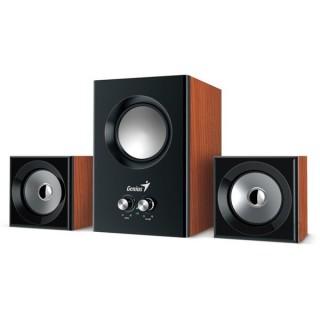 Genius SW-2.1 370 8W fa mintázatú hangszóró