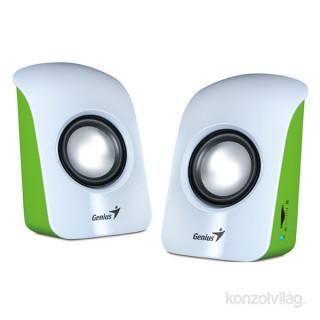 Genius SP-U115 1.5W USB fehér hangszóró PC