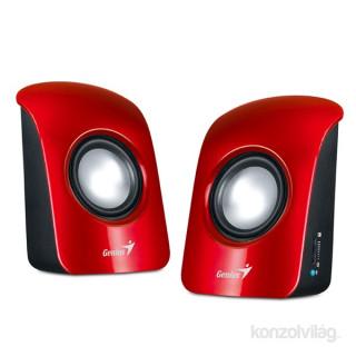 Genius SP-U115 1.5W USB piros hangszóró PC