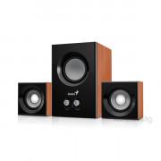 Genius SW-2.1 375 12W fa mintázatú hangszóró PC