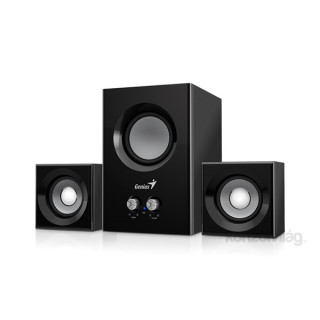 Genius SW-2.1 375 12W fekete hangszóró