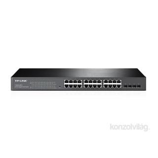TP-Link T1600G-28TS 24port GbE LAN 4 combo GbE RJ45/SFP menedzselhető Switch PC