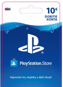 ESD SK - PS Store el. peňaženka - 10 EUR (Kód na stiahnutie) PS4