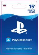 ESD SK - PS Store el. peňaženka - 15 EUR (Kód na stiahnutie) PS4